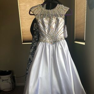 Other - Ritzee Girls Long Pageant Gown